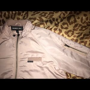 Urban Outfitters Pink Bomber Jacket